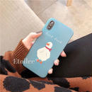 Blue duck iphone case