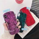 Marble round iphone case