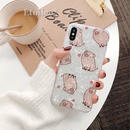 Pig heart shell iphone case
