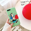 Green cartoon iphone case