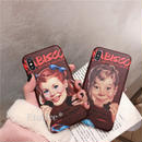 Cookie boy and girl iphone case