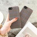 Autumn fabric iphone case