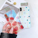 Sweet heart  laser iphone case