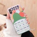 Fruits calendar iphone case