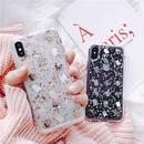 Glitter shell dot iphone case