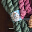 Snail yarns Gradient mini skein (20gかせ)  Viridianみどり