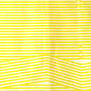 hirune 折れ線ストライプ イエロー
