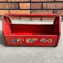ビンテージ ツールキャリー 工具箱