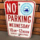 ビンテージ NO PARKING 道路標識 ロードサイン
