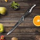 Sunnecko プロ用 6インチ ボンディングナイフ ダマスカスVG10スチール シャープブレード キッチンナイフ