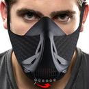 高所トレーニング効果 6段階調整 トレーニングマスク 低酸素 トレーニング フィットネスジム ポーチ付き