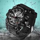【6カラー】スポーツウォッチ メンズ トップブランド 高級 電子LEDデジタル 腕時計 海外ブランド品