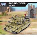 xingbao社 1386ピース スコーピオン タイガータンク 戦車 レゴブロック互換