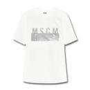 MSGM   シルバーロゴTee | XS