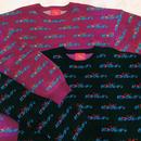 PA30152 ニューピンクレディ総柄セーター