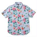APPLEBUM  Houndstooth Flower SS Shirt