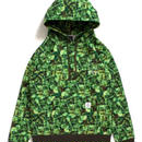 "APPLEBUM【CHOP ROLL SLOW BURN Collaboration】""Pixel"" Sweat Parka"