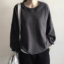 【sold out】charcoal gray スウェット