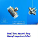 Dual Torus Saturn's Ring based with galaxy disk, and Fatacy's experiment 2nd