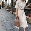 linen setup skirt