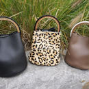 real leather pard bag