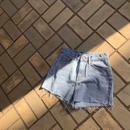 denim shortpants