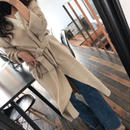 long spring knit cardigan
