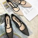 dot flat shoes