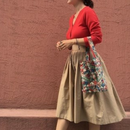 balloon flare skirt