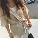 chiffon summer short gown