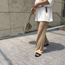 linen knit pants