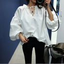 balloon blouse shirt