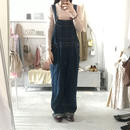 used  denim salopette  pants