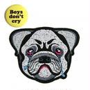 """(マコンエレスコア) MACON & LESQUOY """"Bulldog"""" iron on patch ワッペン"""