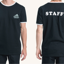 (Pleasant)STAFF BLACK TEE