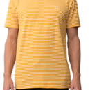(Pleasant)ESCAPE YELLOW STRIPED TEE