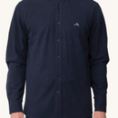 (Pleasant)WAVE NAVY L/S SHIRT