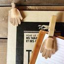 手の形のクリップカバー/ウッドピンチカバー
