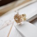 Snow flower(ゴールドベージュ)