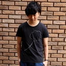 ふらふTシャツ/黒