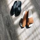 asymmetry sandals (2color)