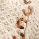 C design pierce&earring