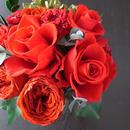 華麗な真紅ローズアレンジ