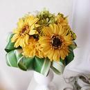 お好きな花瓶に入れられる「ソレイユブーケ」