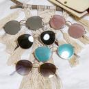 【5color】round metal sunglasses(53mm)