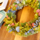 HANISCH の春色リース「Kalk」