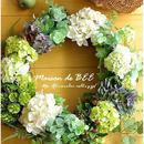 7種のグリーンフラワーリース