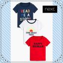 スローガン Tシャツ 3枚セット(0~24か月)