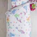 レインボー マーメイド  シングルサイズ 掛×枕カバー