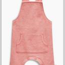ピンク ポケット ダンガリー (0~24か月)